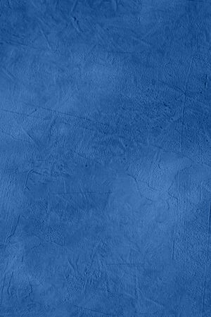 Beautiful decorative abstract background in clasic blue colour. pantone 2020. Stylized banner with space for text.