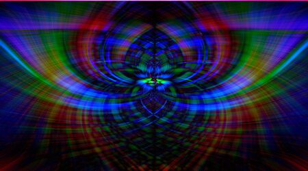 Trendy beautiful neon multi-colored abstraction texture. Twirl effect as a decorative patterned wallpaper. soft focus.