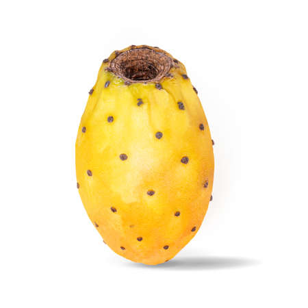 prickly pears isolated on white background with clipping path