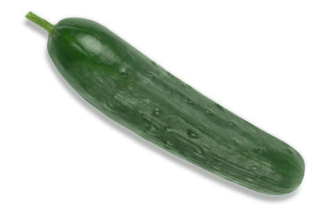 Fresh Cucumber isolated on a white background