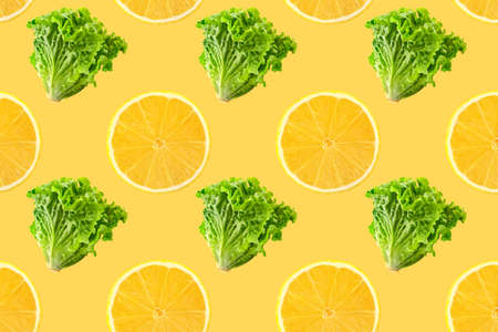 Pattern of fresh vegetables isolated on creative colored texture Archivio Fotografico - 159234418