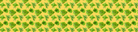 Pattern of fresh vegetables isolated on creative colored texture Archivio Fotografico - 159234423