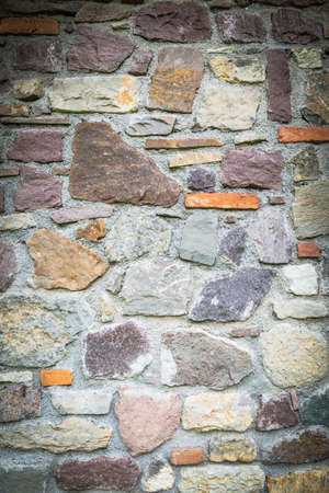 Texture of a stone wall as a background Archivio Fotografico