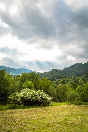 Nature landscape for adventure, hiking and recreational tourism Foto de archivo