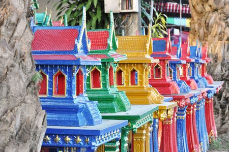 Joss House New Thailand Stock Photo
