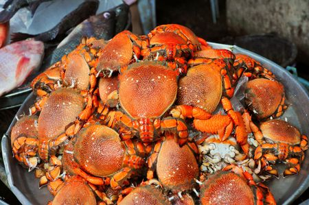 Red Frog Crab Market