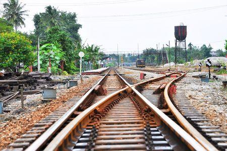 chock: Long Railway Juntion Steel