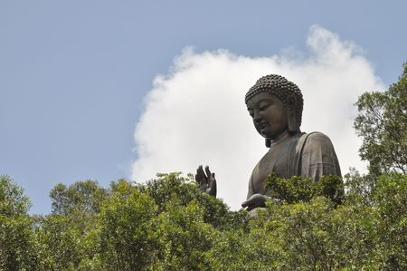 savant: Big Buddha Image Stock Photo