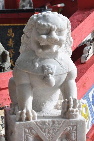 objectivity: China Lion Marble Sit