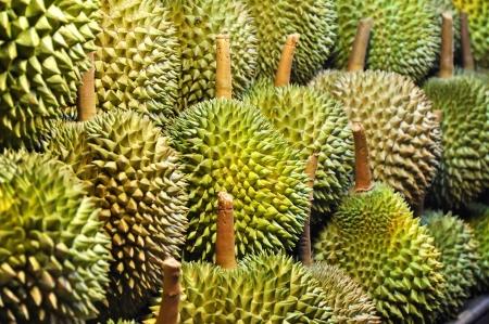 Durian Many Set Stock Photo