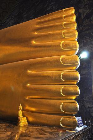 objectivity: Big Foot Buddha Statue