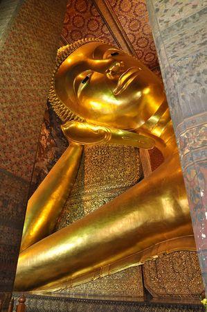 Big Buddha Sleep Shore Face Stock Photo - 7453234