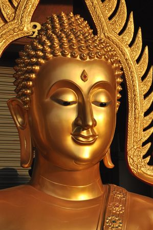 Buddha Head Aura Brass photo