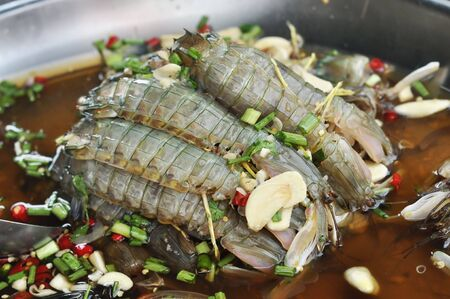 soak: Mantis Shrimp Soak Fish Souse