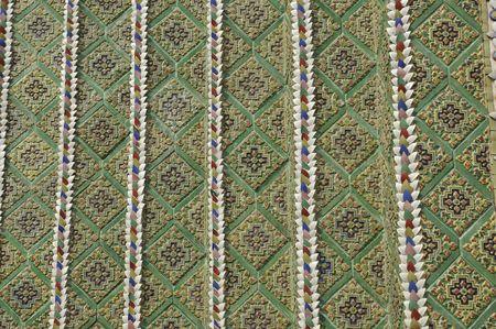 Pattern Mosaic Tile Style Asia Stock Photo - 7505752
