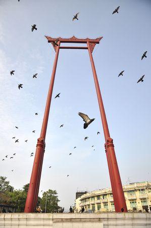 Sao Chingcha Flying Pigeon Bangkok photo