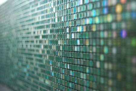 Glass Background Mosaic Pattern Stock Photo