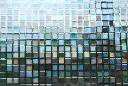 Background Glass Mosaic Pattern
