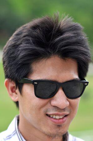 Asia Thailand Man Face Asia Thailand