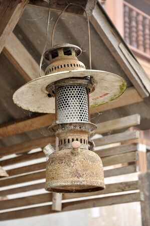Lamp Vintage Hang Old Style Stock Photo