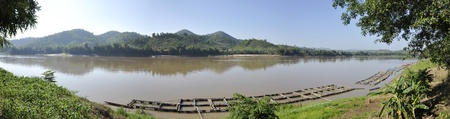 Mekong River View Forest Nature photo