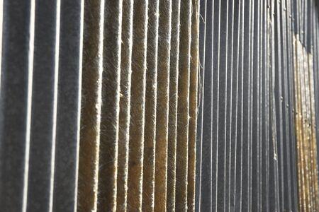 ondulation: Contexte fibre Motif mur Ondulation Banque d'images