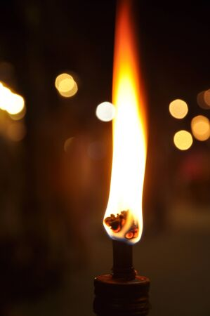 Fire Beam Native Lamp