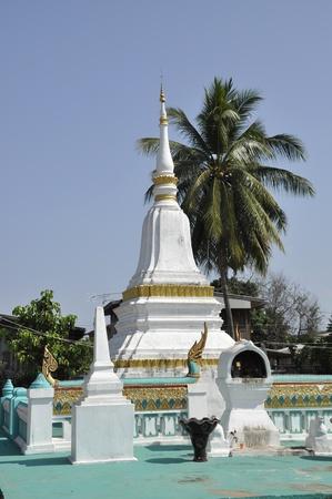 Pagoda Local Thailand Outdoor Rural Stock Photo