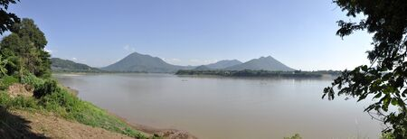 Views Mekong River Thailand Nature Panorama
