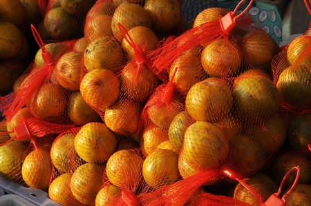 Food Fruit Net Orange Market Outdoor photo