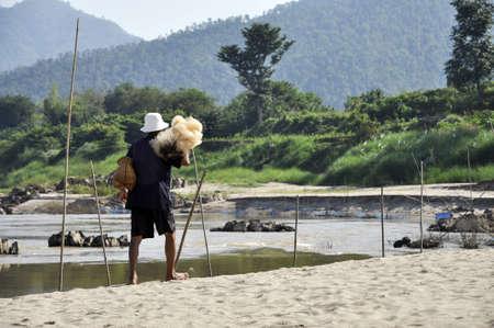 cane creek: Bamboo Creel Fisherman Walk Beach Net