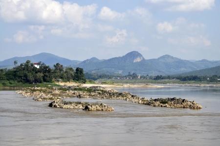 Stone Mountain River Outdoor Rock Asia