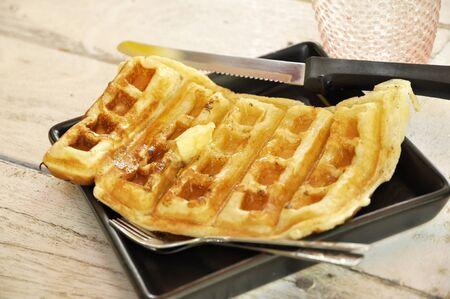 Butter Dish Breakfast Set Waffle