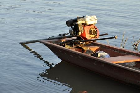 standard steel: Outdoor Boat Engine Steel River