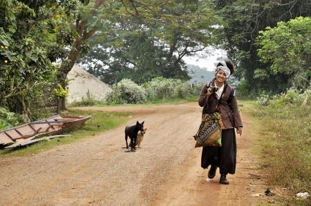 Thailand Women Reggae Road Country Way