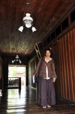 Thailand Model Pretty Reggae Old Hotel