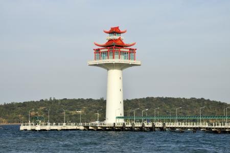 Coast China Sea Lighthouse Day Water