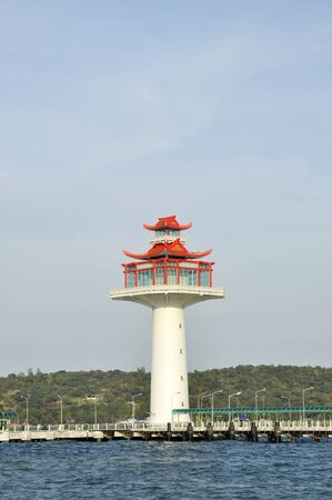 Lighthouse Day New Style Chinese Stock Photo - 17127628