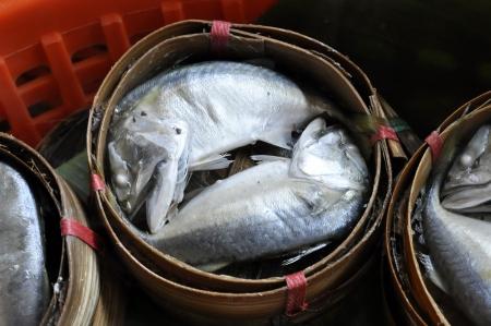 Mackerel Fish Thailand Bamboo Basket