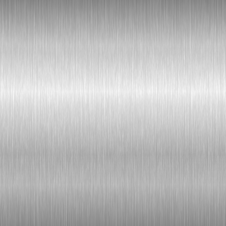 Brushed metal background. Steel texture with scratches. Vector illustration.