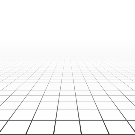 Abstract background with a perspective grid.
