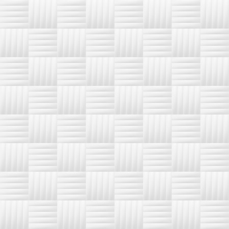 White seamless geometric pattern. Vector tiles background.