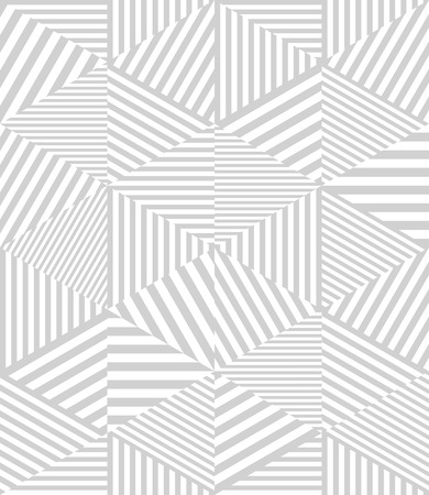 Abstract geometric background. Vector modern seamless pattern