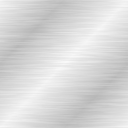 Seamless brushed metal texture. Vector steel background with scratches. Stock Vector - 112062788