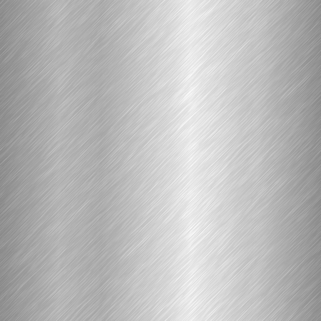 Seamless brushed metal texture. Vector steel background with scratches. Stock Vector - 112062790