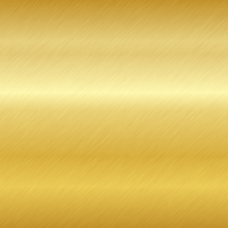Seamless brushed metal texture. Vector golden background with scratches. Standard-Bild - 112062791