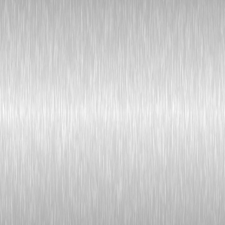 Seamless brushed metal texture. Vector steel background with scratches. Imagens - 112062812