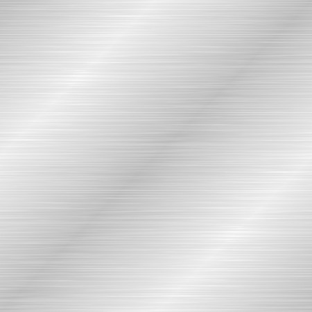 Seamless brushed metal texture. Vector steel background with scratches. Stock Vector - 108771588