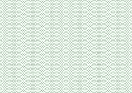 Vector certificate texture. Seamless linear geometric pattern. Ilustração