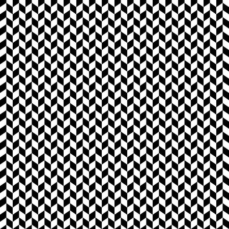 Vector monochrome geometric pattern. Simple seamless texture.